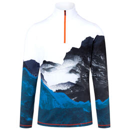 Bogner Fire And Ice Men's Pascal T-Neck Print Sweater