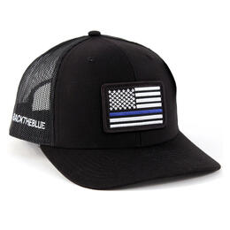 Richardson Twill Mesh #backtheblue Snapback Trucker Hat