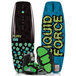 Liquid Force Youth Fury Wakeboard '19 with Rant Bindings