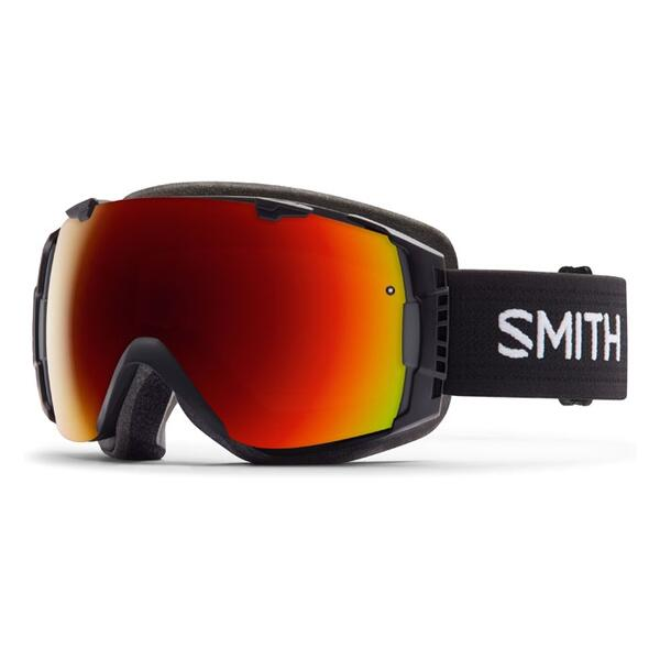 Smith I/O Snow Goggles With Red Sol X/Blue Sensor Lenses