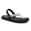 Sanuk Girl's Yoga Wildlife Sandals
