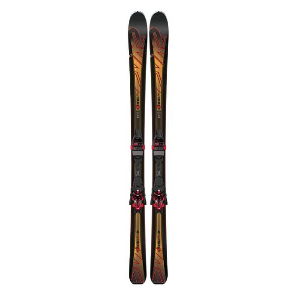 K2 Men's Ikonic 80 All Mountain Skis with M3 12 TC Bindings '16