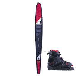 HO Sports Men's Freeride Slalom Waterski with 7-11 Freemax Boot and ART '18