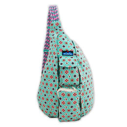 Kavu Women's Rope Bag Backpack Daisy Doodle