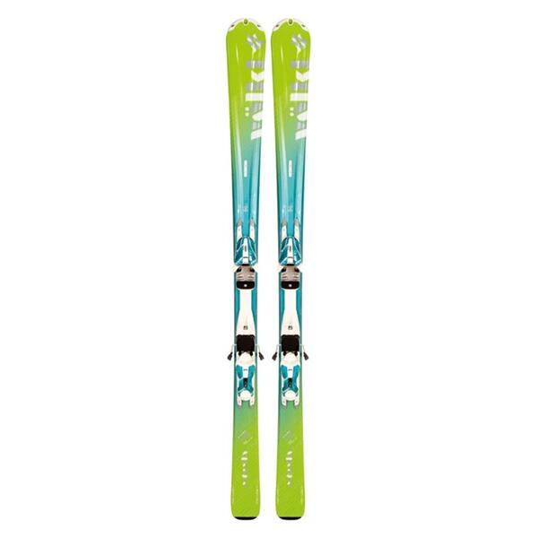Volkl Women's Estrella Green Skis With Attiva 3Motion 10.0 Bindings '12