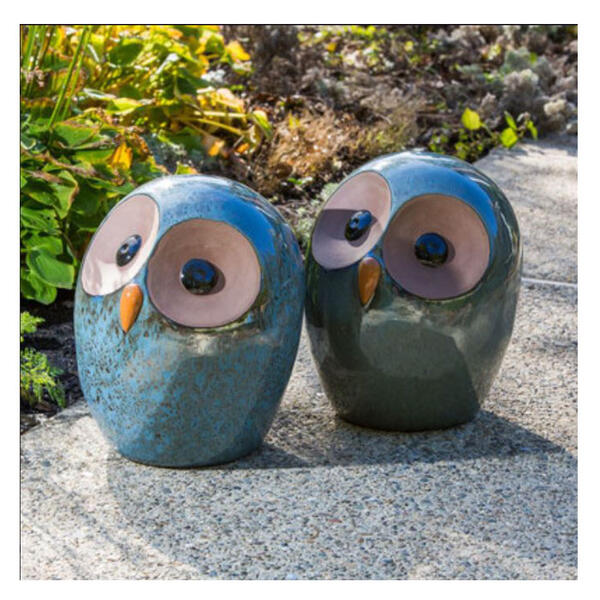 Alfresco Home Large Ceramic Owl