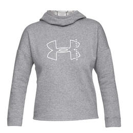 Under Armour Women's Rival Big Logo Hoodie
