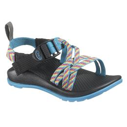 Chaco ZX/1 Kids Ecotread Sandals Rainbow