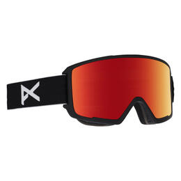 Anon Men's M3 Snow Goggles with Red Solex Lens