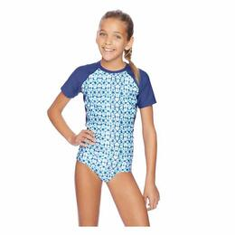 Next By Athena Girl's Spice Market Short Sleeve Rashguard Set