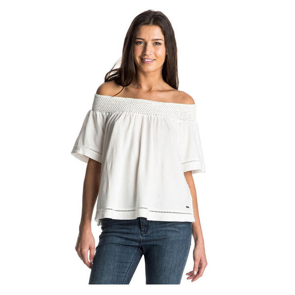 Roxy Women's Hey Tonight Off The Shoulder T
