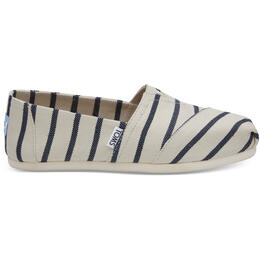 Toms Women's Alpargata Casual Shoes Riviera Stripe