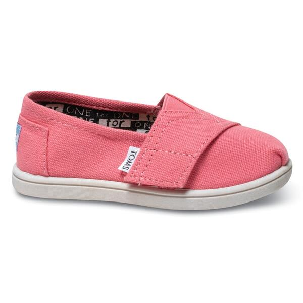 Toms Tiny Classic Canvas Slip-on Shoes