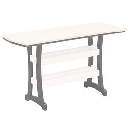 "Casual Comfort Bay Shore 28"" x 72"" Pub Table"