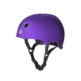 Triple Eight Brainsaver Glossy Skate Helmet with Sweatsaver Liner