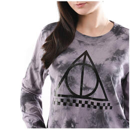 Vans Women's Deathly Hallows Crop Long Sleeve Top