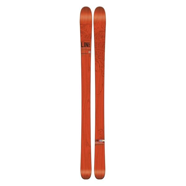 Line Men's Supernatural 92 All Mountain Skis '15 - Flat