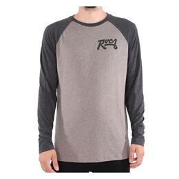Rvca Men's Loop Back Long Sleeve T-Shirt