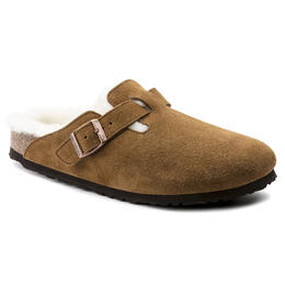 Birkenstock Women's Boston Shearling Slipper Shoes - Narrow