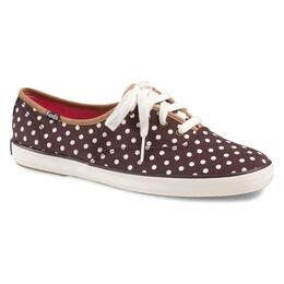Keds Women's Champion Brown Dot Casual Shoes