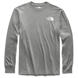 The North Face Men's Red Box Long Sleeve T Shirt