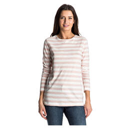 Roxy Women's Zarauz Beat Stripes Long Sleeve Top