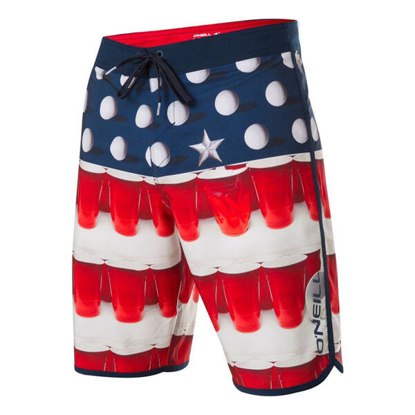 O'Neill Men's Hyperfreak Beer Pong Shorts