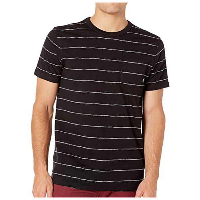 Vans Men's Checked In Stripe Crew T Shirt