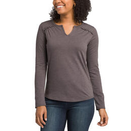 prAna Women's Nitty Split Neck Top