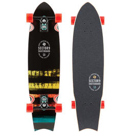 Sector 9 Rainbow Unagi Skateboard