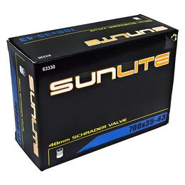 Sunlite Tube Schrader Valve 700x35/43 48mm Bicycle Tube