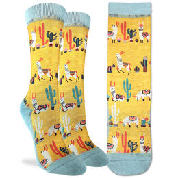 Good Luck Socks Women's Llamas Socks