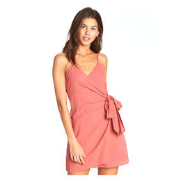 Billabong Women's Island Wrap Woven Dress