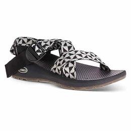 Chaco Women's Mega Z Cloud Sandals Barred Black/White