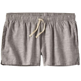 Patagonia Women's Chambray Island Hemp Baggies Shorts