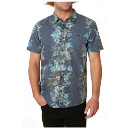 O'Neill Men's Maile Party Short Sleeve Button Up Shirt