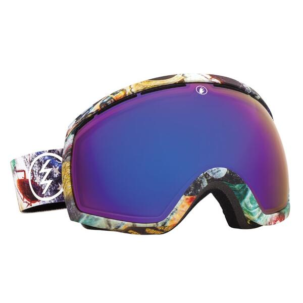 Electric EG2 Snow Goggles with Bronze/Blue Chrome Lens
