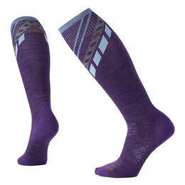Smartwool Women's PhD Ski Ultra Light Pattern Ski Socks