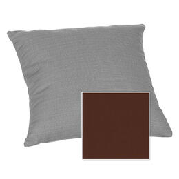 Casual Cushion Corp. 15x15 Throw Pillow - Canvas Bay Brown