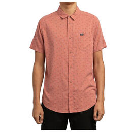 Rvca Men's Jah Va Short Sleeve Shirt