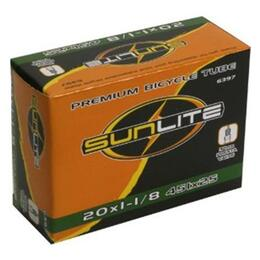 Sunlite Presta Valve 20x1-3/8 Bicycle Tube