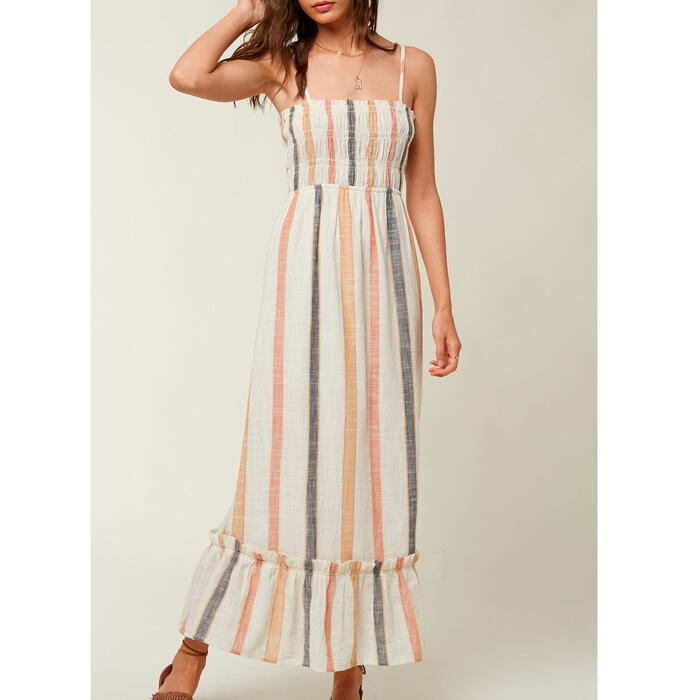 O'neill Women's Lane Smocked Maxi Dress
