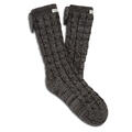 UGG Women's Laila Bow Fleece Lined Socks alt image view 1