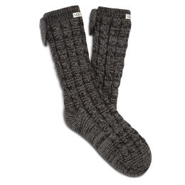 UGG Women's Laila Bow Fleece Lined Socks