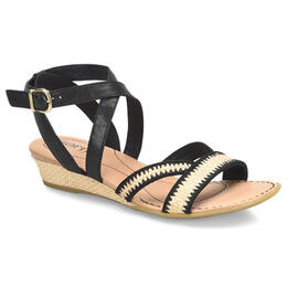 Born Women's Cascade Wedge Sandals