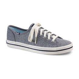 Keds Women's Kickstart Chambray Stripe Casual Shoes