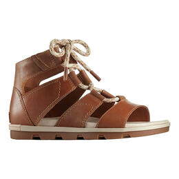 Sorel Women's Torpeda Lace II Casual Sandals Camel Brown