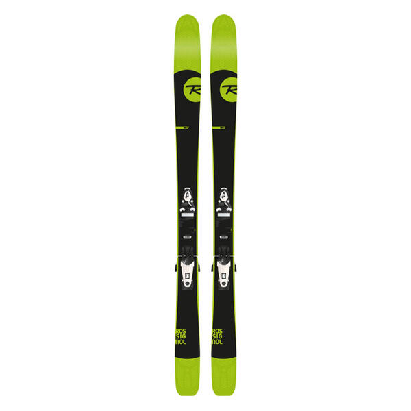 Rossignol Men's Sin 7 Freeride Skis with Ax