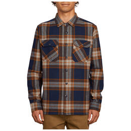 Volcom Men's Randower Long Sleeve Flannel Shirt