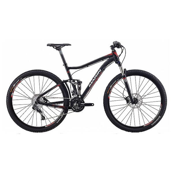 Marin Rift Zone 29er XC6 Full Suspension Mountain Bike '13